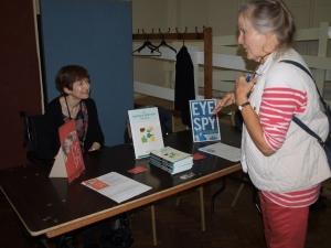 Me at Leigh Literary and Arts Fair